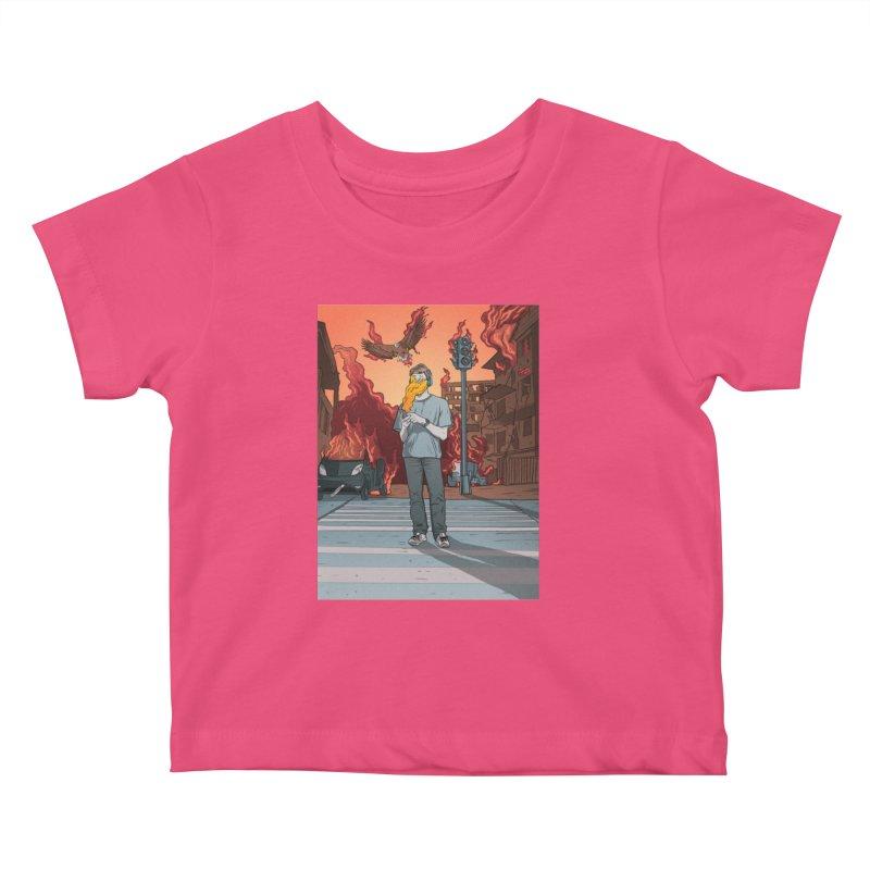 APPocalypse Kids Baby T-Shirt by RJ Artworks's Artist Shop