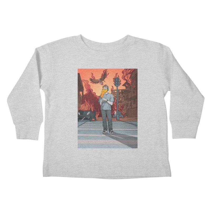 APPocalypse Kids Toddler Longsleeve T-Shirt by RJ Artworks's Artist Shop