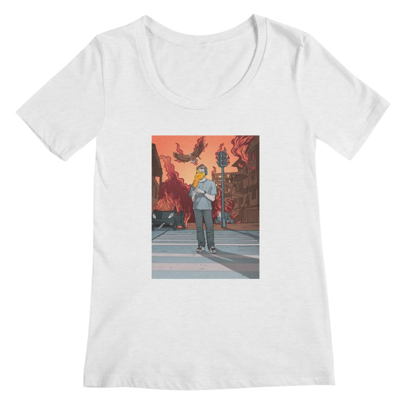 APPocalypse Women's Regular Scoop Neck by RJ Artworks's Artist Shop