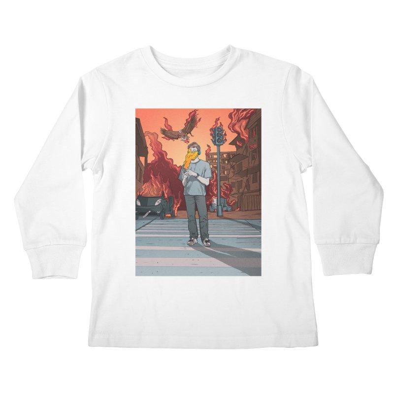 APPocalypse Kids Longsleeve T-Shirt by RJ Artworks's Artist Shop