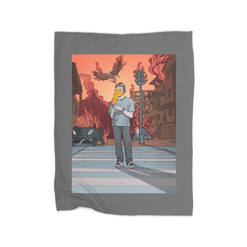 APPocalypse Home Fleece Blanket Blanket by RJ Artworks's Artist Shop