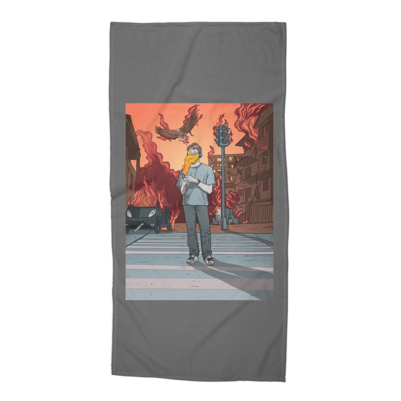 APPocalypse Accessories Beach Towel by RJ Artworks's Artist Shop