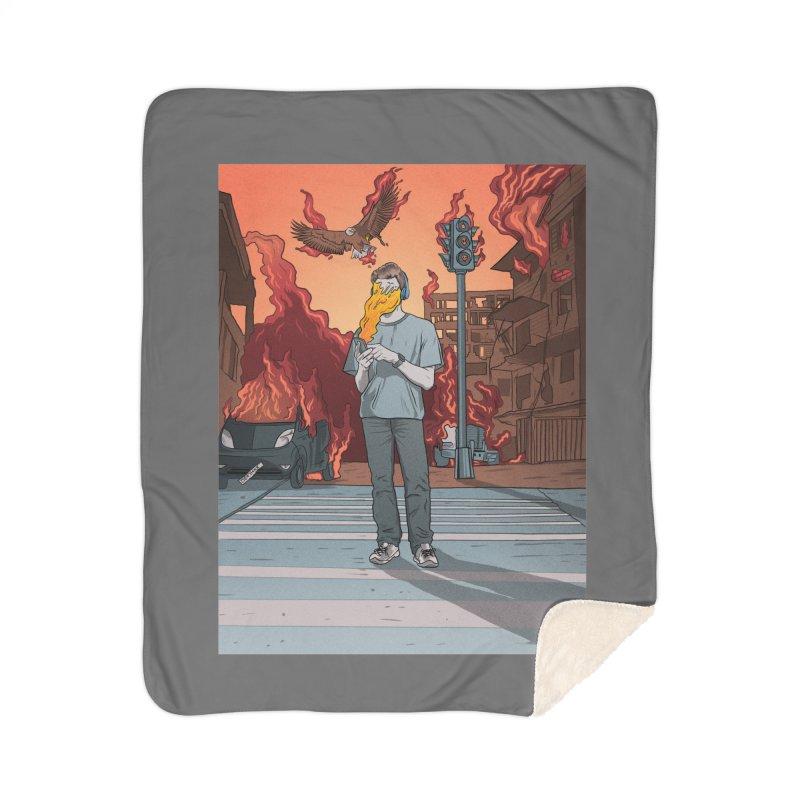 APPocalypse Home Sherpa Blanket Blanket by RJ Artworks's Artist Shop
