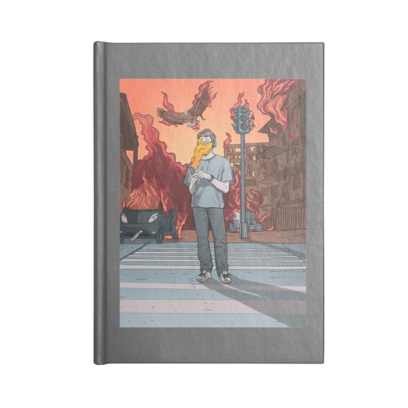 APPocalypse Accessories Blank Journal Notebook by RJ Artworks's Artist Shop