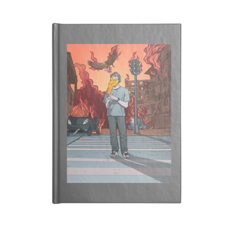 APPocalypse Accessories Lined Journal Notebook by RJ Artworks's Artist Shop