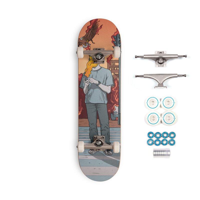 APPocalypse Accessories Complete - Basic Skateboard by RJ Artworks's Artist Shop