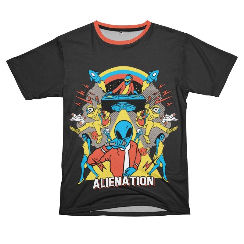 Alienation Men's T-Shirt Cut & Sew by RJ Artworks's Artist Shop