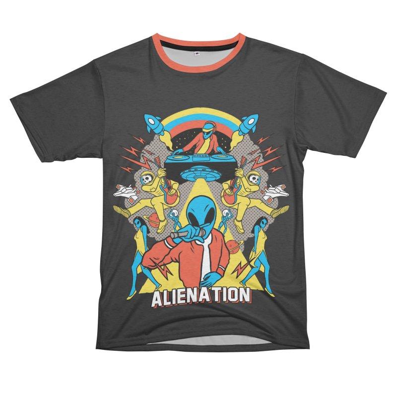Alienation Women's Unisex French Terry T-Shirt Cut & Sew by RJ Artworks's Artist Shop