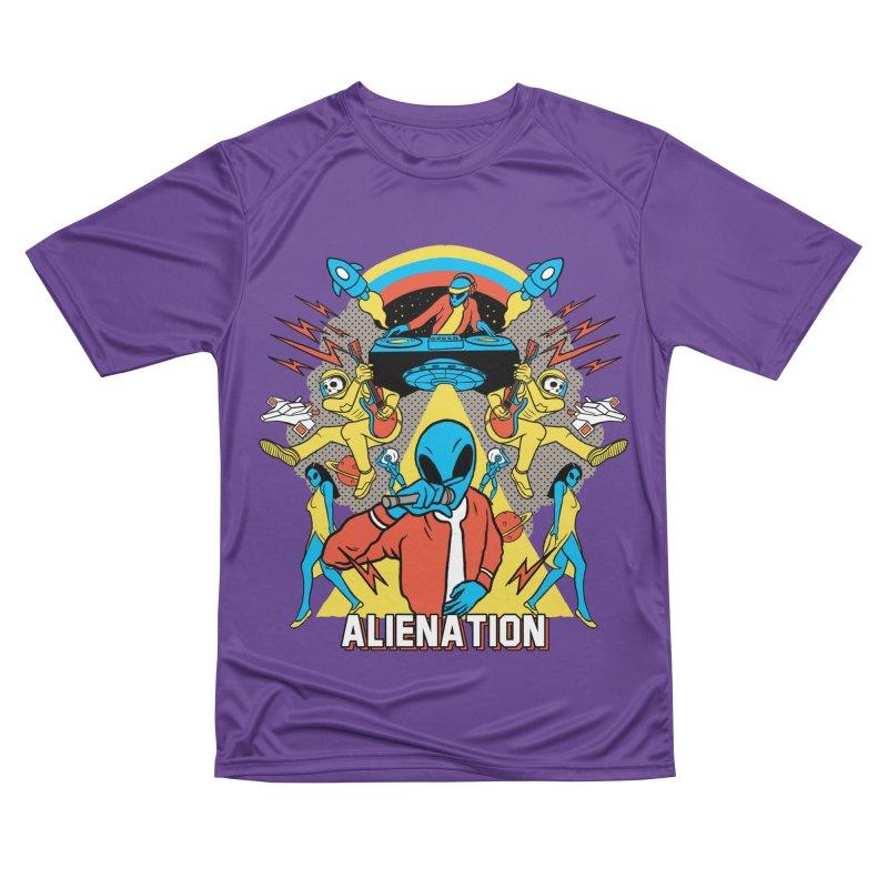 Alienation Men's Performance T-Shirt by RJ Artworks's Artist Shop