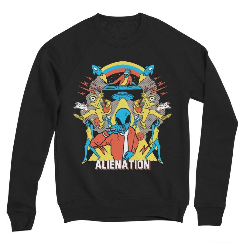 Alienation Women's Sponge Fleece Sweatshirt by RJ Artworks's Artist Shop