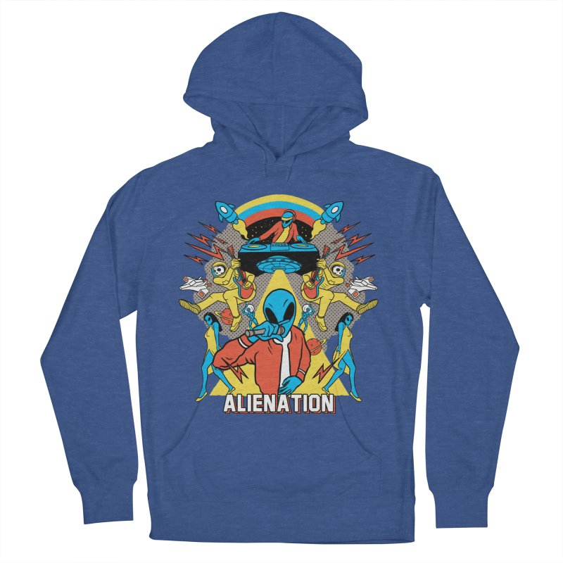 Alienation Women's French Terry Pullover Hoody by RJ Artworks's Artist Shop
