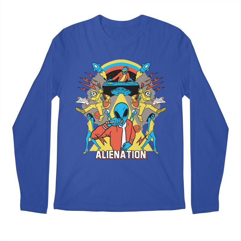 Alienation Men's Regular Longsleeve T-Shirt by RJ Artworks's Artist Shop
