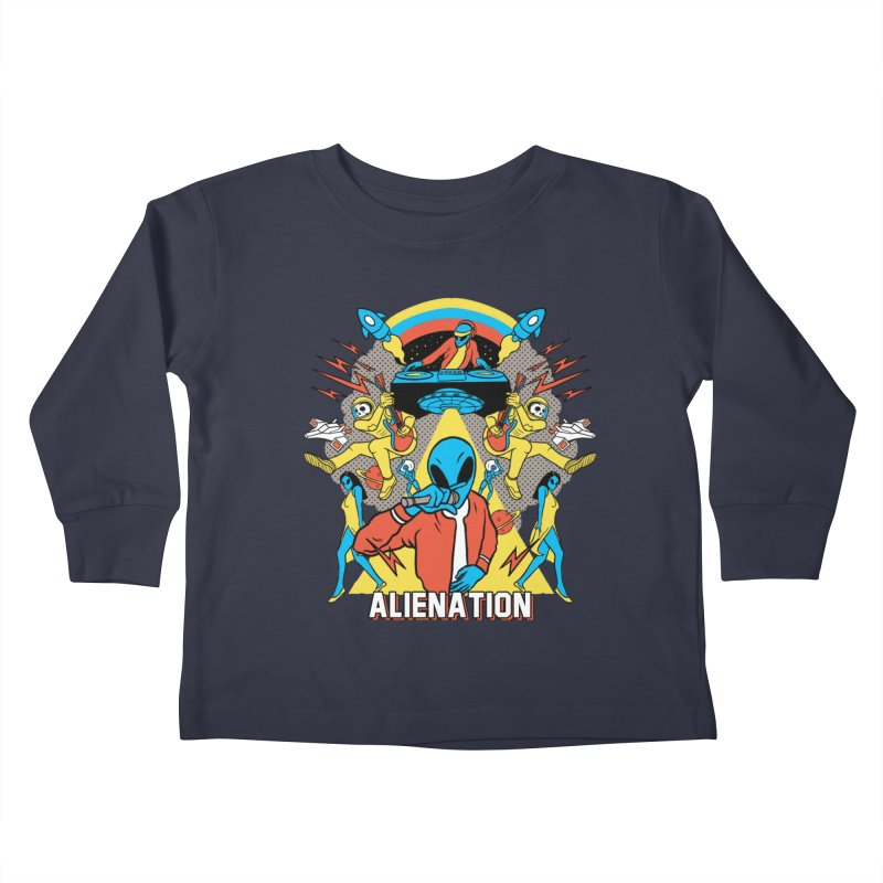Alienation Kids Toddler Longsleeve T-Shirt by RJ Artworks's Artist Shop