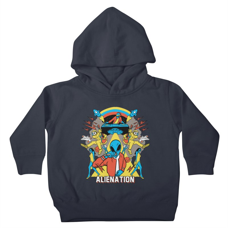 Alienation Kids Toddler Pullover Hoody by RJ Artworks's Artist Shop
