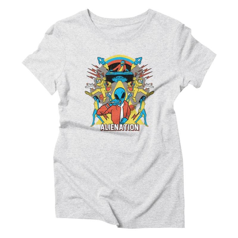 Alienation Women's Triblend T-Shirt by RJ Artworks's Artist Shop