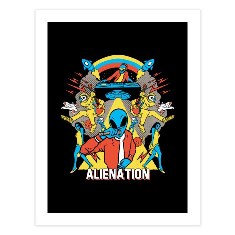 Alienation Home Fine Art Print by RJ Artworks's Artist Shop