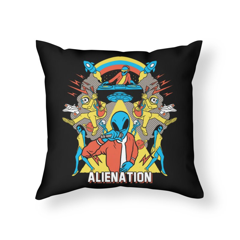 Alienation Home Throw Pillow by RJ Artworks's Artist Shop