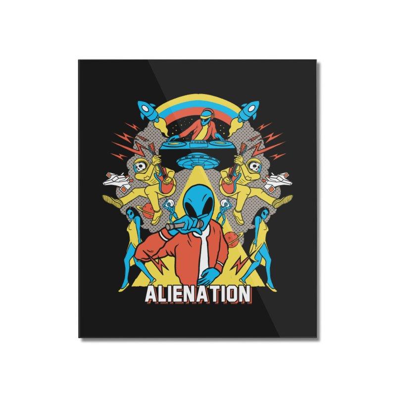Alienation Home Mounted Acrylic Print by RJ Artworks's Artist Shop