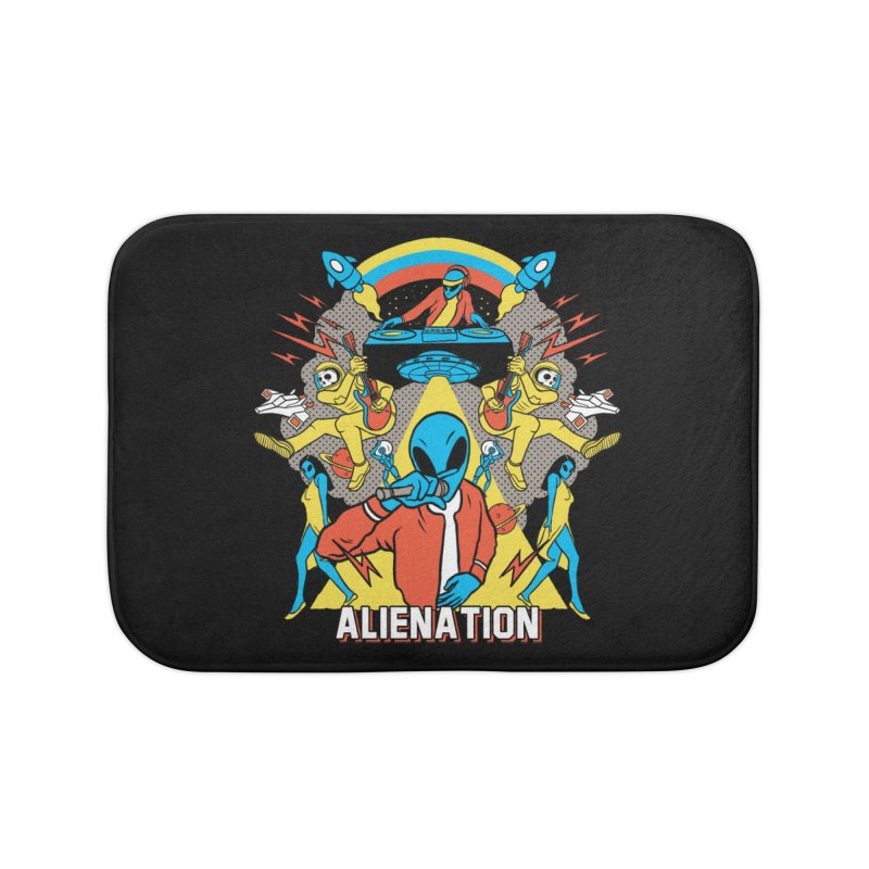 Alienation Home Bath Mat by RJ Artworks's Artist Shop