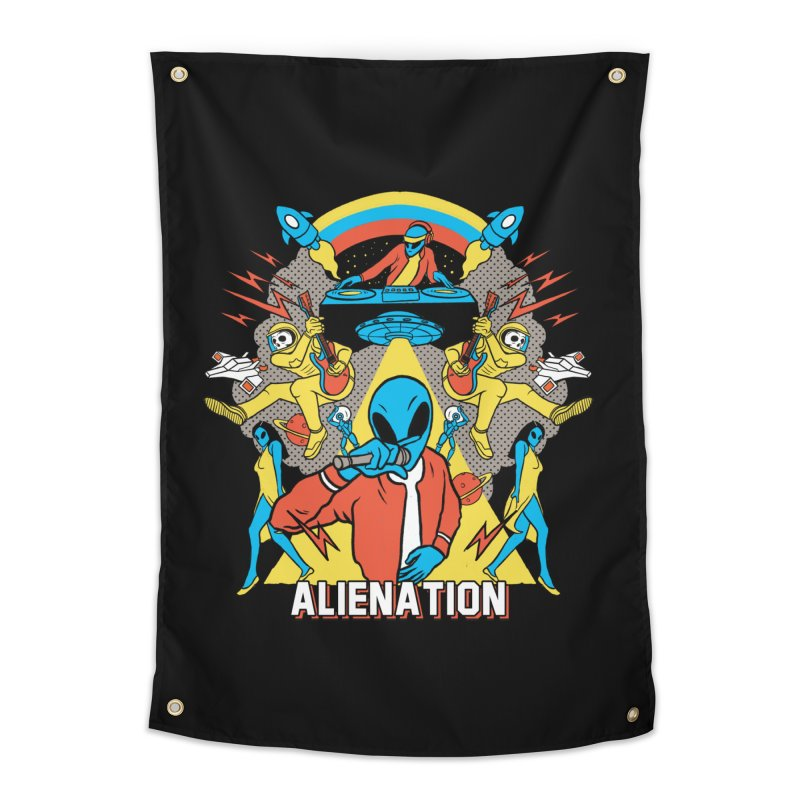 Alienation Home Tapestry by RJ Artworks's Artist Shop