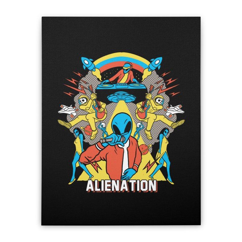 Alienation Home Stretched Canvas by RJ Artworks's Artist Shop