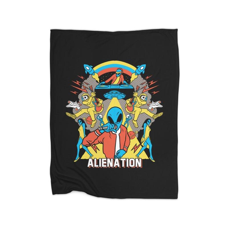 Alienation Home Fleece Blanket Blanket by RJ Artworks's Artist Shop