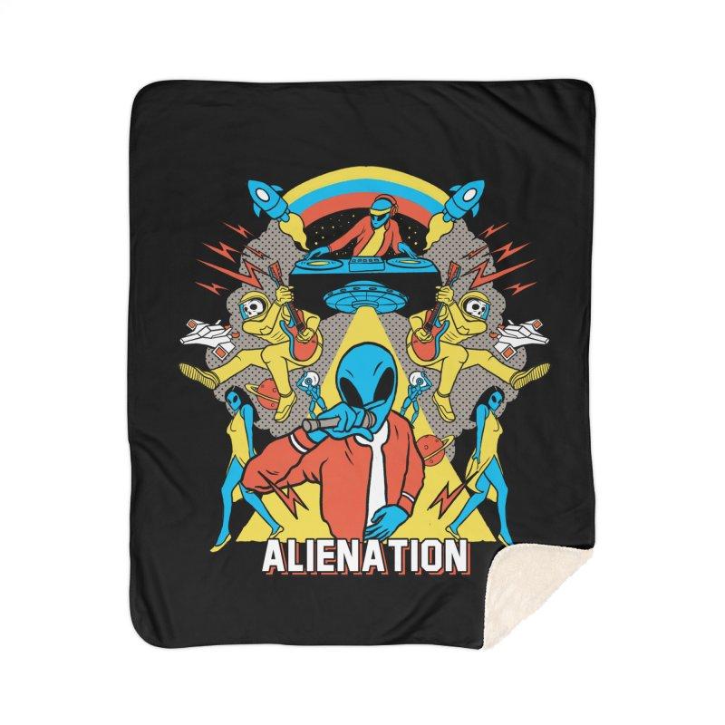 Alienation Home Sherpa Blanket Blanket by RJ Artworks's Artist Shop