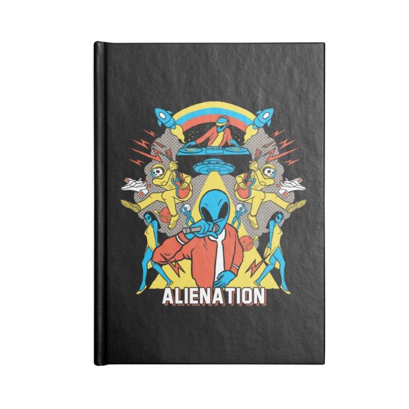 Alienation Accessories Lined Journal Notebook by RJ Artworks's Artist Shop