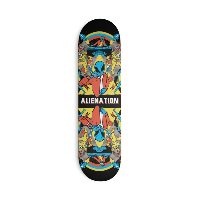 Alienation Accessories Deck Only Skateboard by RJ Artworks's Artist Shop