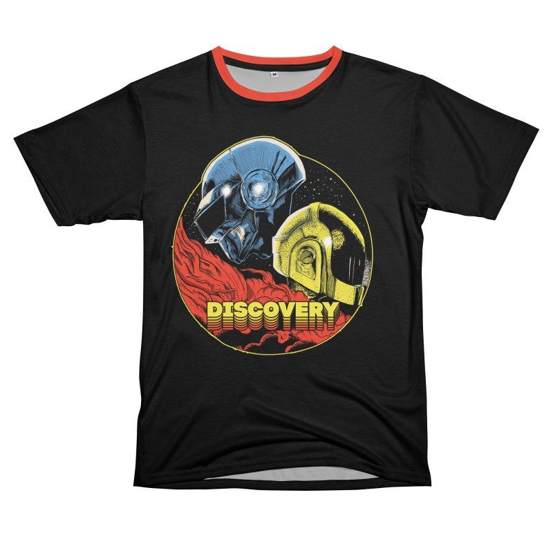 Discovery Men's T-Shirt Cut & Sew by RJ Artworks's Artist Shop