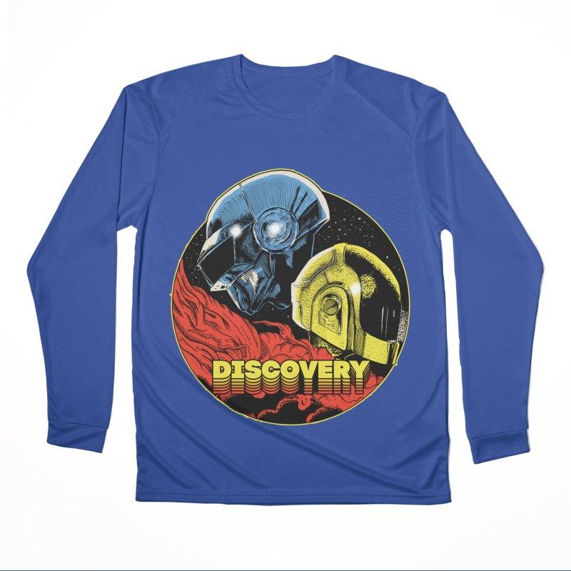 Discovery Men's Performance Longsleeve T-Shirt by RJ Artworks's Artist Shop