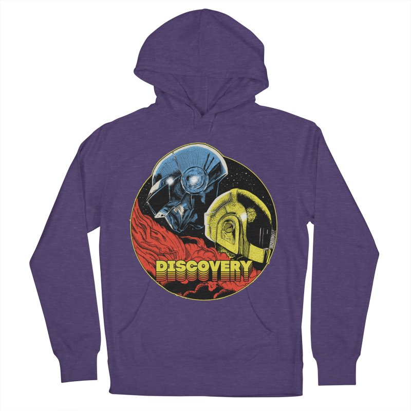 Discovery Men's French Terry Pullover Hoody by RJ Artworks's Artist Shop