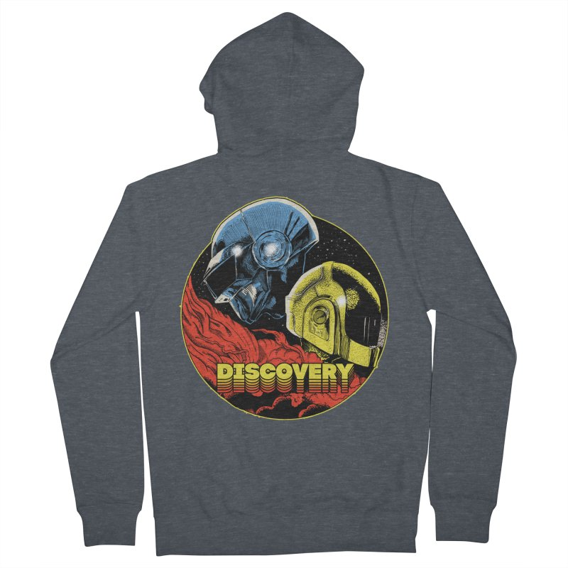 Discovery Women's French Terry Zip-Up Hoody by RJ Artworks's Artist Shop
