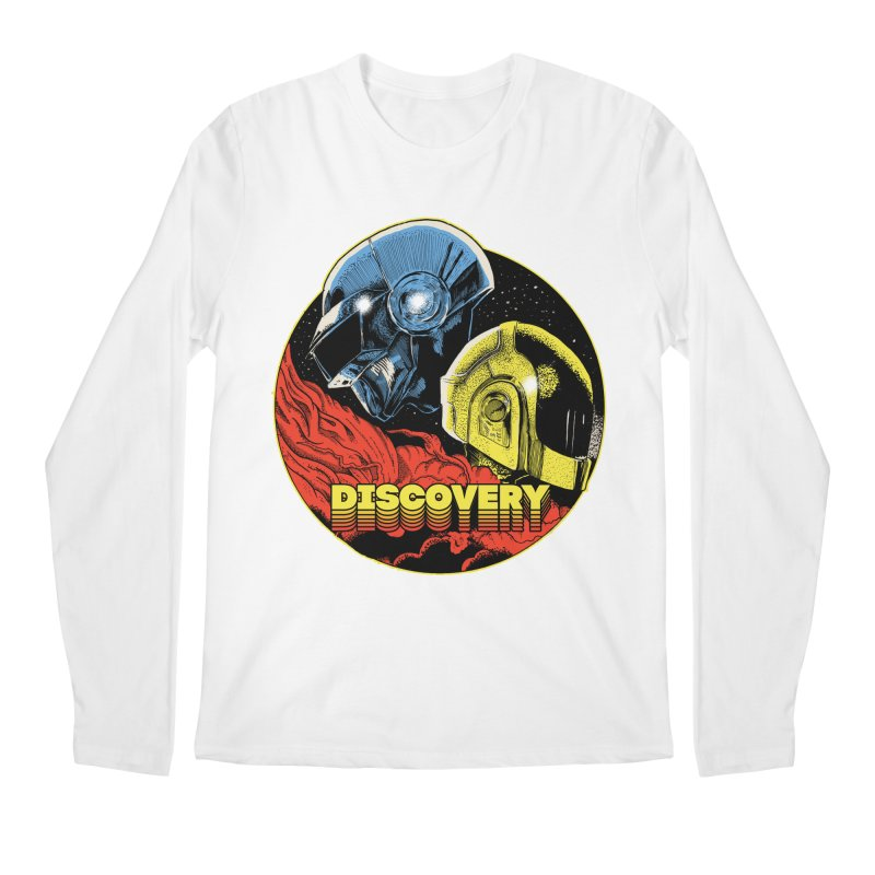 Discovery Men's Regular Longsleeve T-Shirt by RJ Artworks's Artist Shop
