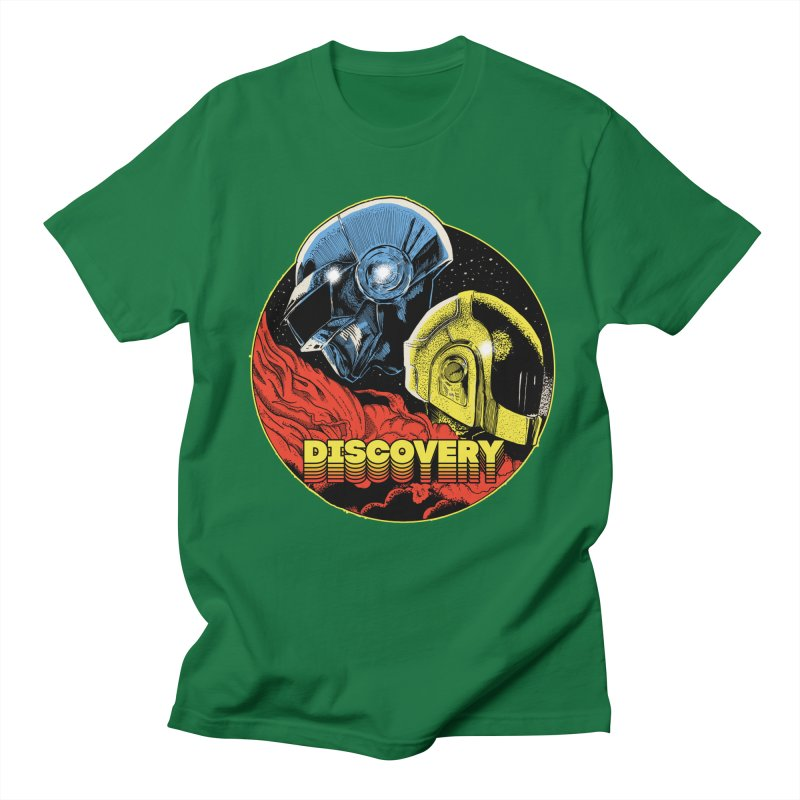 Discovery Men's Regular T-Shirt by RJ Artworks's Artist Shop