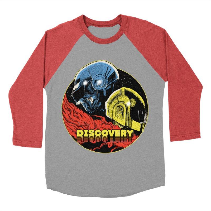 Discovery Women's Baseball Triblend Longsleeve T-Shirt by RJ Artworks's Artist Shop