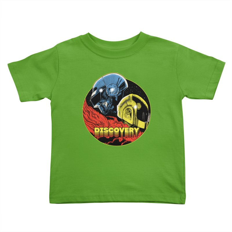 Discovery Kids Toddler T-Shirt by RJ Artworks's Artist Shop
