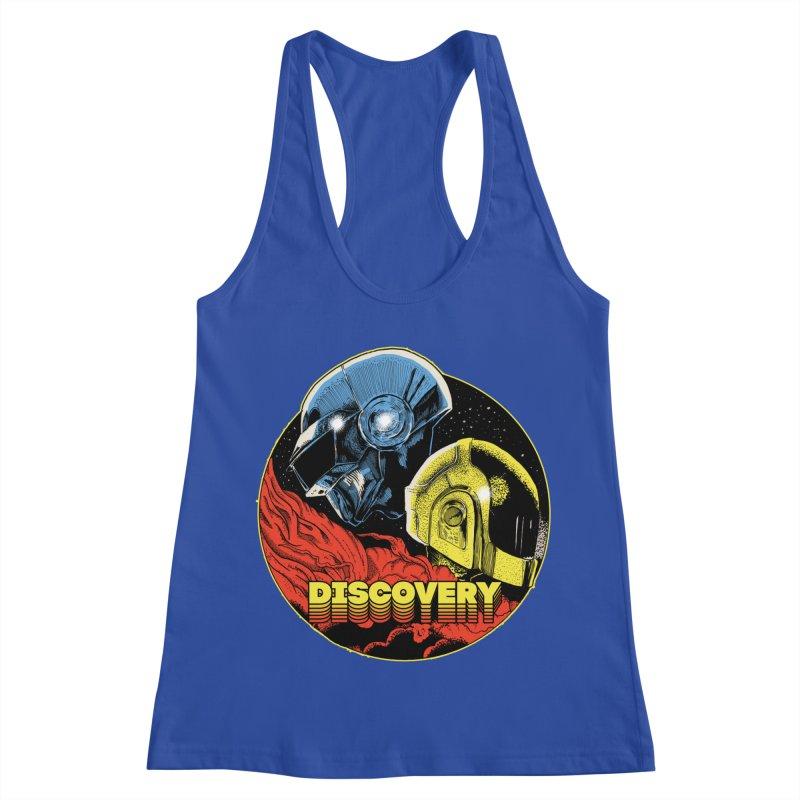 Discovery Women's Racerback Tank by RJ Artworks's Artist Shop