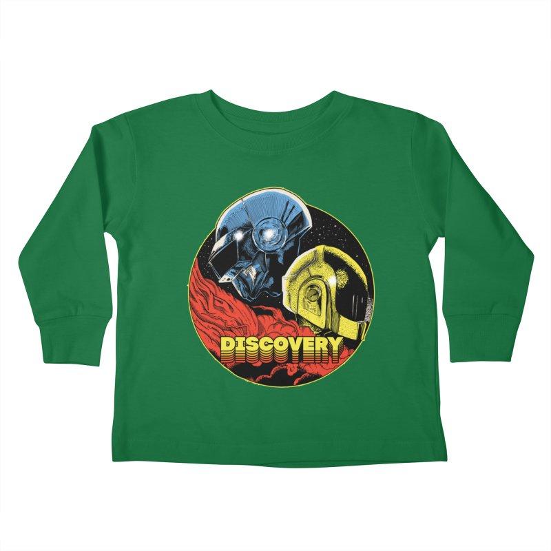Discovery Kids Toddler Longsleeve T-Shirt by RJ Artworks's Artist Shop