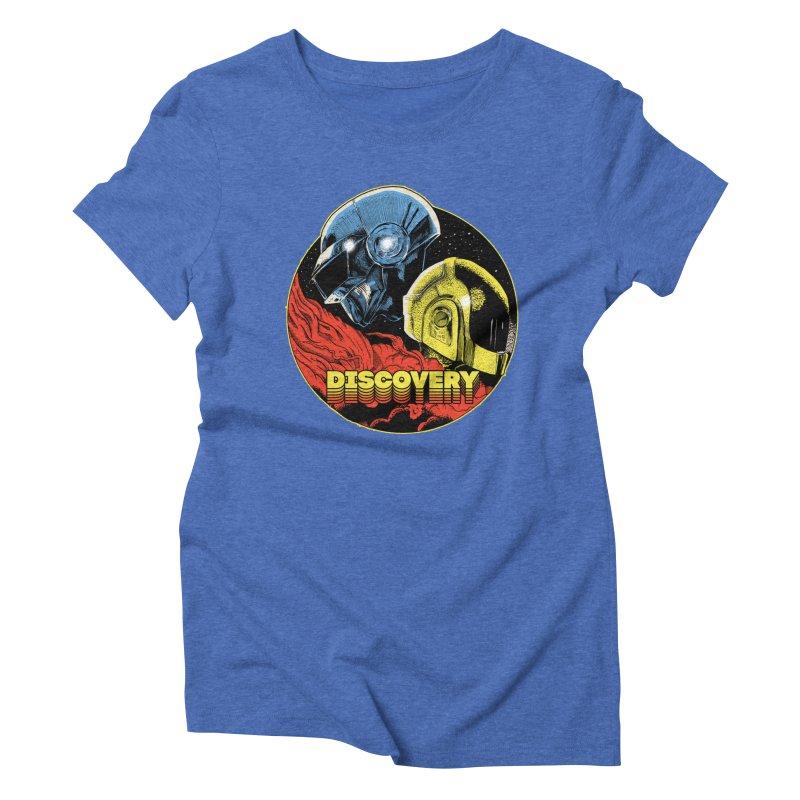 Discovery Women's Triblend T-Shirt by RJ Artworks's Artist Shop
