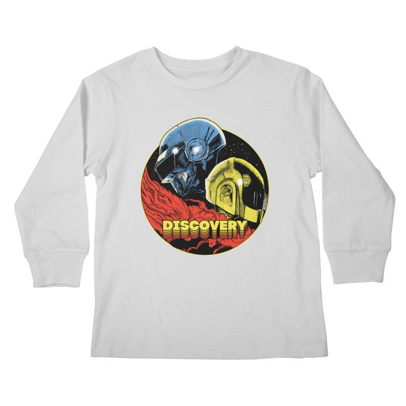 Discovery Kids Longsleeve T-Shirt by RJ Artworks's Artist Shop