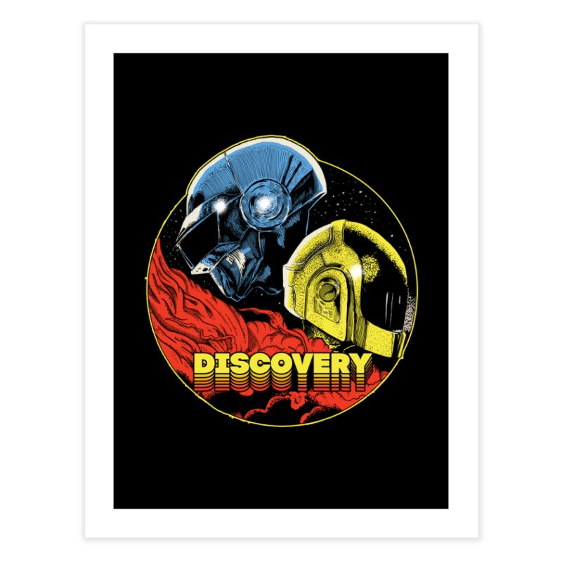 Discovery Home Fine Art Print by RJ Artworks's Artist Shop