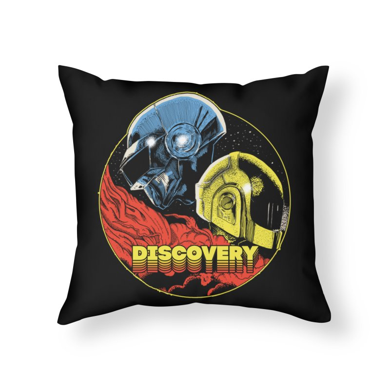 Discovery Home Throw Pillow by RJ Artworks's Artist Shop