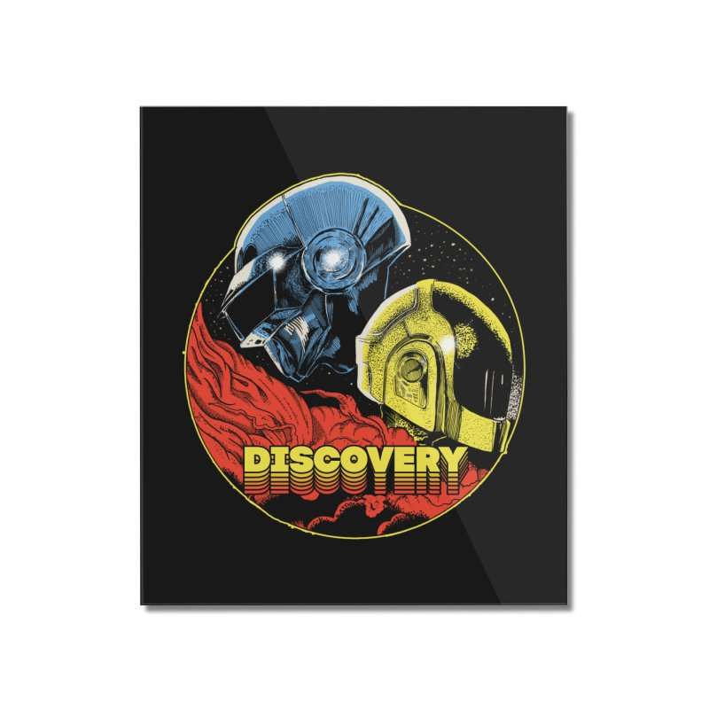 Discovery Home Mounted Acrylic Print by RJ Artworks's Artist Shop