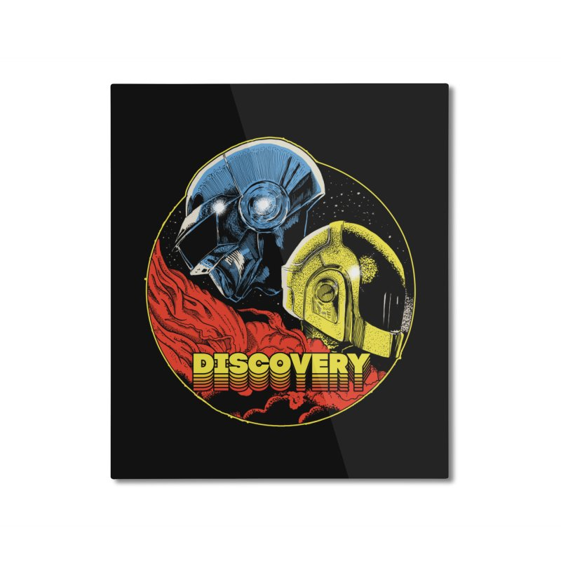 Discovery Home Mounted Aluminum Print by RJ Artworks's Artist Shop