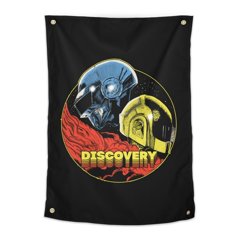 Discovery Home Tapestry by RJ Artworks's Artist Shop