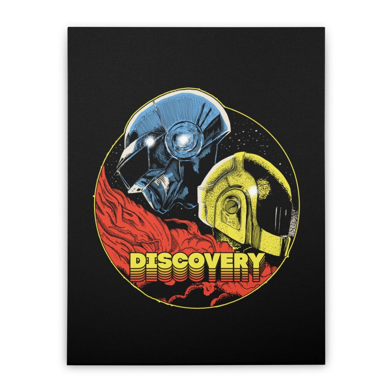 Discovery Home Stretched Canvas by RJ Artworks's Artist Shop