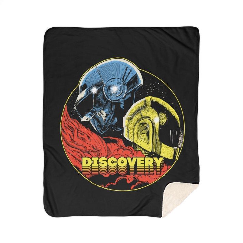 Discovery Home Sherpa Blanket Blanket by RJ Artworks's Artist Shop