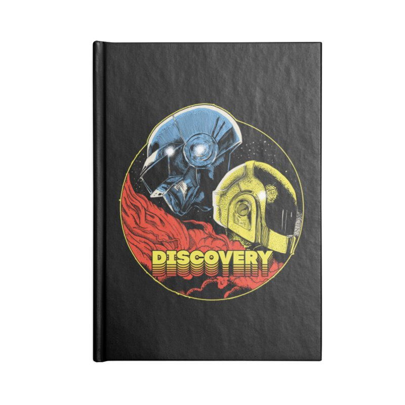 Discovery Accessories Lined Journal Notebook by RJ Artworks's Artist Shop