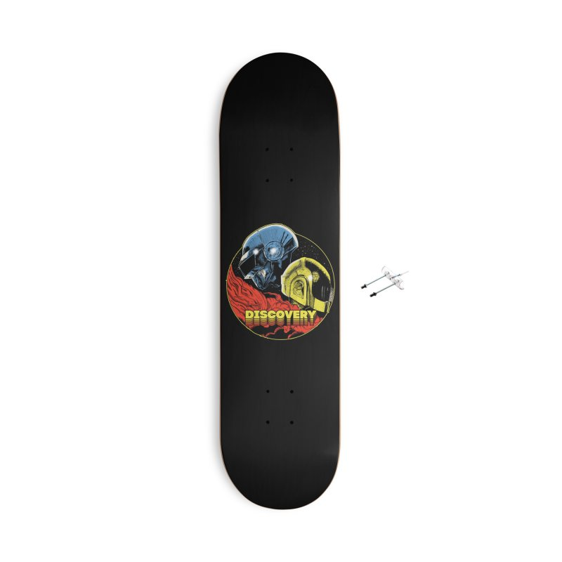 Discovery Accessories With Hanging Hardware Skateboard by RJ Artworks's Artist Shop